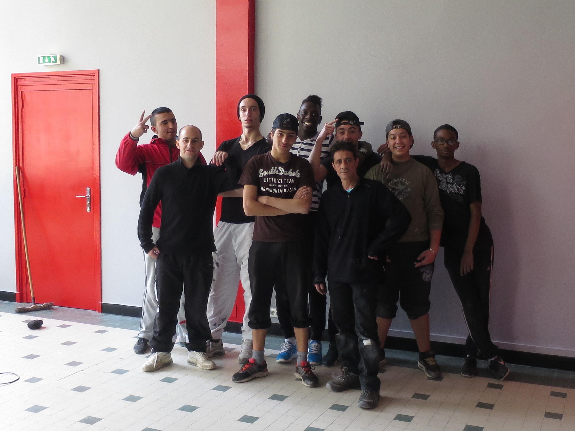 Chantier jeunes - 2014