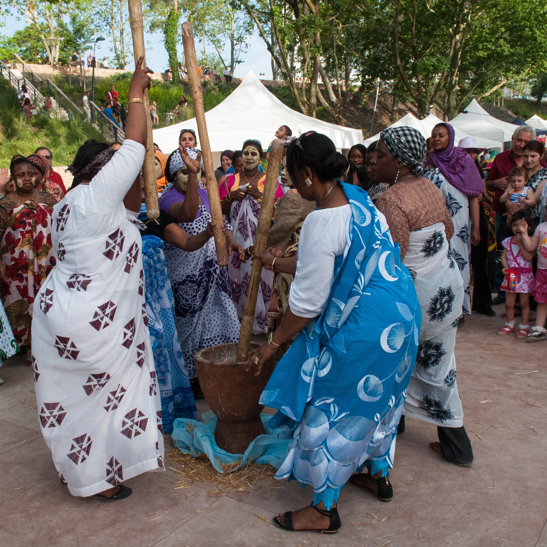 Danse traditionnelle comorienne - Festival D'art et D'air - 2016