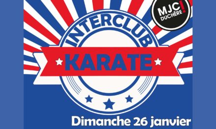 Interclub Karaté – 26 Janvier dernier !